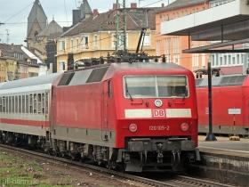 DB AG | 120 105-2 | Koblenz Hbf | 15.08.2007 | (c) Uli Kutting