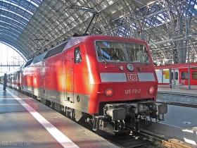 DB AG | 120 110-2 | Frankfurt Hbf | 25.01.2007 | (c) Uli Kutting