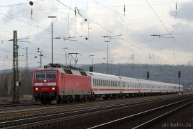 DB AG | 120 114-4 | Koblenz Lützel | 17.1.2015 | (c) Uli Kutting