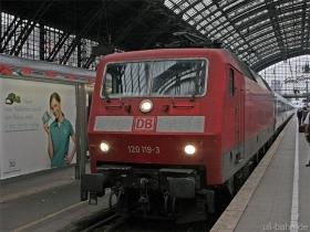 DB AG | 120 119-3 | Köln Hbf | 12.09.2008 | (c) Uli Kutting