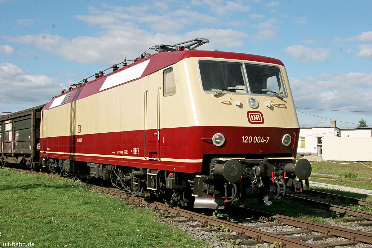 DB | 120 004-7 | DB Museum Koblenz | 27.09.2015 | (c) Uli Kutting