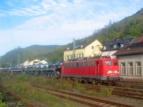 DB | 139 283-6 | Lorch (Rhein) | 25.10.2006 | (c) Uli Kutting
