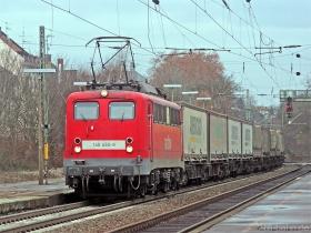 DB AG | 140 450-8 | Wiesbaden-Biebrich | 17.01.2008 | (c) Uli Kutting