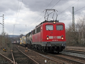 DB AG | 140 600-8 | Wiesbaden-Biebrich | 2.03.2007 | (c) Uli Kutting