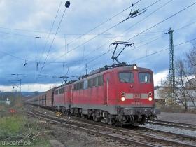 DB AG | 140 763-4 | 140 830-1 | Wiesbaden-Biebrich | 5.12.2006 | (c) Uli Kutting