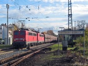DB AG | 140 782-3 | 140 838-4 | Wiesbaden-Biebrich | 22.11.2006 | (c) Uli Kutting