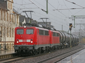 DB AG | 140 820-2 | Oberlahnstein | 21.11.2008 | (c) Uli Kutting