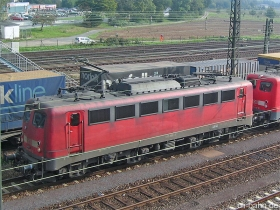 DB AG | 140 858-2 | Bischofsheim | 10.10.2006 | (c) Uli Kutting