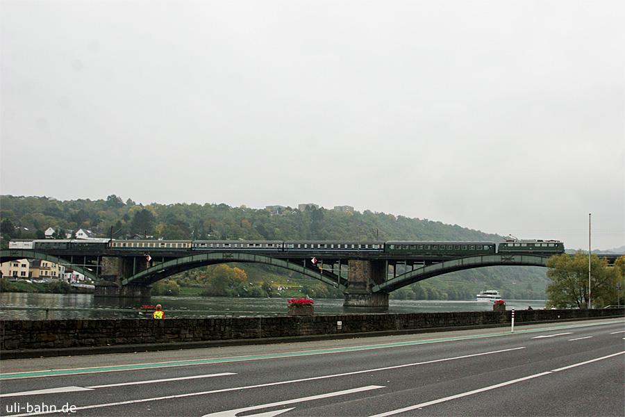 DB | E40 128 | Koblenz Güls | 18.10.2015 | (c) Uli Kutting
