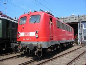 DB | 141 248-5 | Siegen | 12.08.2007 | (c) Uli Kutting
