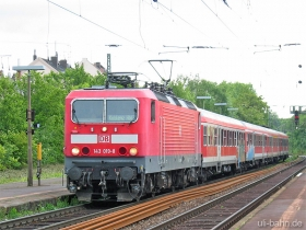 DB | 143 019-8 | RB 15524 | Wiesbaden-Biebrich| 31.05.2006 | (c) Uli Kutting
