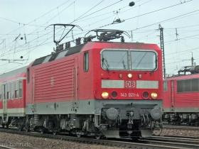 DB | 143 021-4 | Mainz-Bischofsheim | 16.12.2006 | (c) Uli Kutting