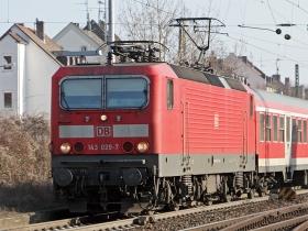 DB | 143 029-7 | Wiesbaden-Biebrich | 29.01.2009 | (c) Uli Kutting