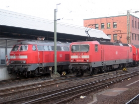 DB | 143 078-4 | Koblenz Hbf | 26.01.2009 | (c) Uli Kutting