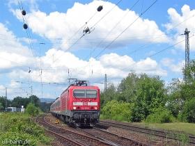 DB   143 181-6   Wiesbaden-Biebrich   9.06.2007   (c) Uli Kutting