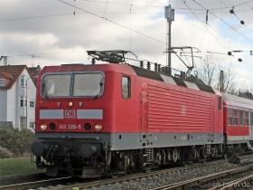 DB   143 228-5   Wiesbaden-Biebrich    15.02.2007   (c) Uli Kutting