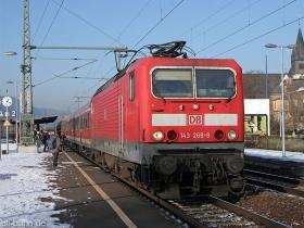 DB   143 269-9   Oberlahnstein   9.01.2009   (c) Uli Kutting