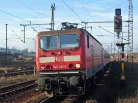DB   143 291-3   Gotha   2.12.2006   (c) Uli Kutting