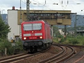 DB   143 321-8   Oberlahnstein   15.08.2007   (c) Uli Kutting