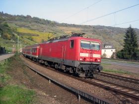 DB   143 366-3   Oberwesel   10.11.2006   (c) Uli Kutting