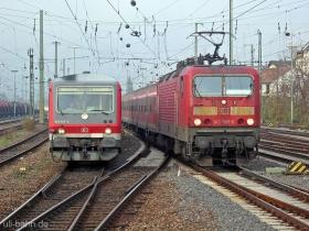 DB   143 905-8   628 467-3   Mainz Hbf   27.11.2006   (c) Uli Kutting
