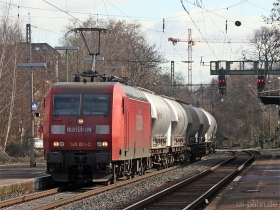 DB | 145 021-2 | Wiesbaden-Biebrich | 15.02.2007 | (c) Uli Kutting