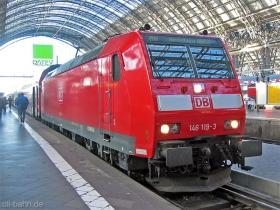 DB | 146 119-3 | Frankfurt Hbf | 25.01.2007 | (c) Uli Kutting
