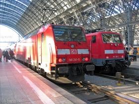 DB | 146 241-5 | Frankfurt Hbf | 23.01.2007 | (c) Uli Kutting
