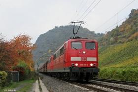 DB | 151 001-5 | 151 148-4 | Leutesdorf | 27.10.2015 | (c) Uli Kutting
