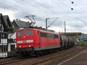 DB | 151 011-4 | Oberlahnstein | 15.08.2007 | (c) Uli Kutting