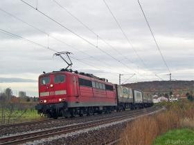 DB | 151 027-0 | Gau-Algesheim | 17.11.2006 | (c) Uli Kutting