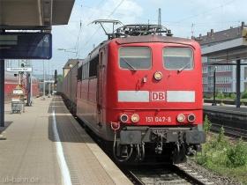 DB | 151 047-8 | Koblenz Hbf | 5.06.2007 | (c) Uli Kutting