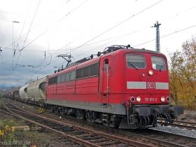 DB | 151 051-0 | Wiesbaden-Biebrich | 22.11.2006 | (c) Uli Kutting