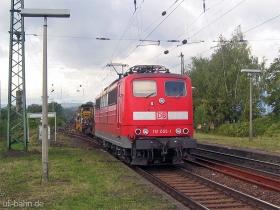 DB | 151 055-1 | Wiesbaden-Biebrich | 5.10.2006 | (c) Uli Kutting