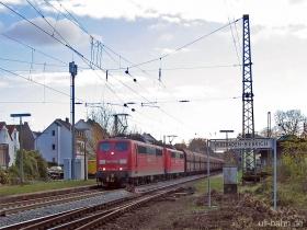 DB | 151 096-5 | 151 060-1 | Wiesbaden-Biebrich | 22.11.2006 | (c) Uli Kutting