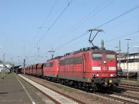 DB | 151 118-7 | Neuwied | 20.04.2009 | (c) Uli Kutting