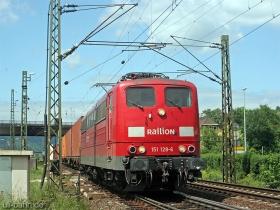 DB | 151 128-6 | Oberlahnstein | 18.05.2007 | (c) Uli Kutting