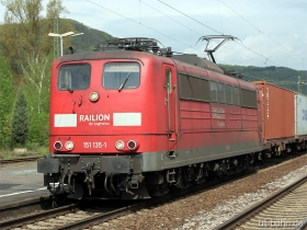 DB | 151 135-1 | Oberlahnstein | - | (c) Uli Kutting