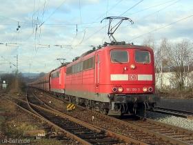 DB | 151 139-3 | 151 077-5 | Wiesbaden-Biebrich | 10.01.2007 | (c) Uli Kutting