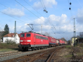 DB | 151 153-4 | Wiesbaden-Biebrich | 20.02.2007 | (c) Uli Kutting