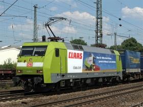 "DB | 152 005-5 | ""Claas"" | Neuwied | 1.07.2008 | (c) Uli Kutting"