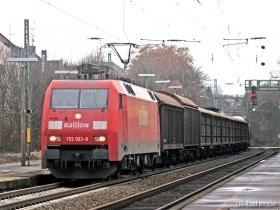 DB | 152 023-8 | Wiesbaden-Biebrich | 17.01.2008 | (c) Uli Kutting