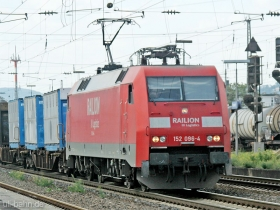 DB | 152 096-4 | Neuwied | 14.08.2007 | (c) Uli Kutting