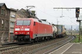 DB | 152 126-9 | Oberlahnstein | 25.11.2016 | (c) Uli Kutting