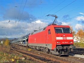 DB | 152 156-6 | Wiesbaden-Biebrich | 22.11.2006 | (c) Uli Kutting