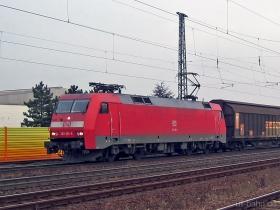 DB | 152 166-5 | Gau-Algesheim | 16.01.2007 | (c) Uli Kutting