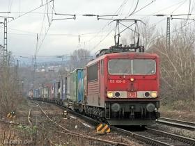 DB | 155 006-0 | Wiesbaden-Biebrich | 17.01.2008 | (c) Uli Kutting