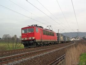 DB | 155 015-1 | Gau-Algesheim | 16.01.2007 | (c) Uli Kutting
