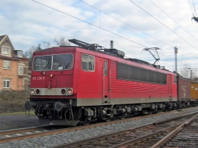 DB | 155 238-9 | Wiesbaden-Biebrich | 10.01.2007 | (c) Uli Kutting