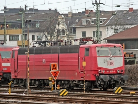 DB | 181 203-1 | Koblenz Hbf | 21.03.2007 | (c) Uli Kutting